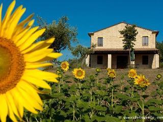 Bright 6 bedroom Carassai Farmhouse Barn with Internet Access - Carassai vacation rentals