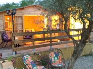 Romantic Log Cabin with private pool & gardens - Monda vacation rentals