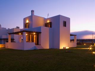 Villa Salamina on the beach - Lachania vacation rentals