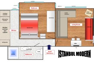 Berry Life - Istanbul Modern Concept (Suit) - Istanbul vacation rentals