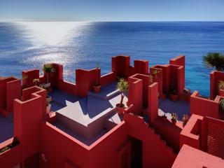 3bdr Seafront Apartment in Calpe, La Muralla Roja - Calpe vacation rentals