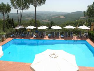 Pino - Apartment with pool and WiFi - San Donato in Poggio vacation rentals