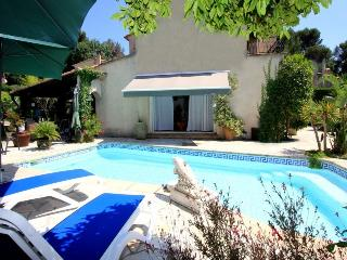 6075 Pretty Provencal villa with private pool - La Roquette-sur-Siagne vacation rentals