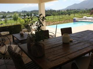House on Exclusive Golf & Wine Estate - Franschhoek vacation rentals