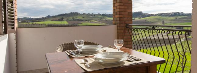Spacious 2 room apartment with private terrace - Frassinello Monferrato vacation rentals