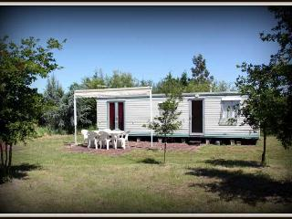 Bright 2 bedroom Commensacq Caravan/mobile home with Television - Commensacq vacation rentals