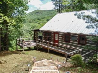 LAKE VIEW RETREAT- 2BR/1.5 BA CABIN (2ND BR IS A LOFT), BEAUTIFUL MOUNTAIN VIEW, HOT TUB, SECLUDED, ONLY $110 A NIGHT! - Blue Ridge vacation rentals