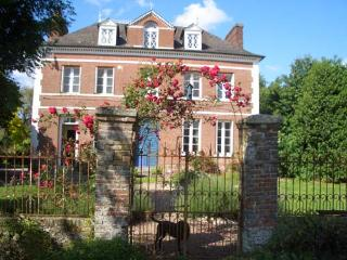Beautiful Manor house with Satellite Or Cable TV and Swing Set - Saint-Vaast-d'Equiqueville vacation rentals