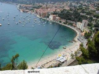Sea view studio apartment with balcony in Villefranche-sur-Mer - Villefranche-sur-Mer vacation rentals