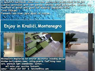 Seaview studio Krasici - Krasici vacation rentals