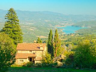 Priello: main farmhouse w pool - Caprese Michelangelo vacation rentals