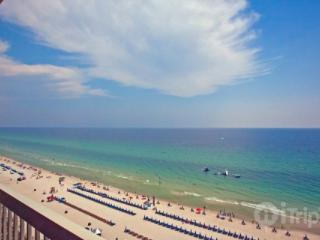 Outstanding View of Gulf from 1 Bedroom Condo at Calypso Beach Towers - Panama City Beach vacation rentals