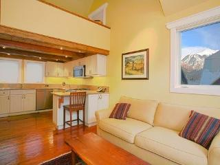 Columbine Condos, Unit E - 1 Bd + Loft / 1 Ba - Sleeps 4 - Comfortably Furnished. Views of Telluride Ski Resort. Walking Distanc - Telluride vacation rentals