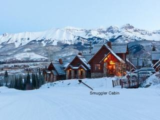 Smuggler Cabin - 4 Bd / 3.5 Ba - Sleeps 14 True Ski In Ski Out onto Lower Double Cabin - Year Round Pool & Hot Tub - Telluride vacation rentals