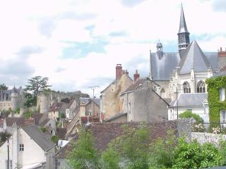 Lovely views on castle - Maisonette with terrace - Montresor vacation rentals
