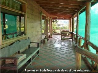 5 BR Eco Log cabin incredible views of Poas Volcan - Poasito vacation rentals