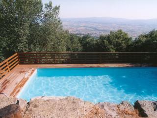Santarsa, Villa con ampia vista e piscina privata - Sansepolcro vacation rentals