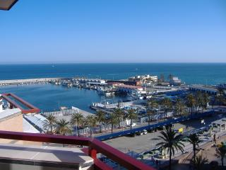 Sunny one bedroom apt with Fabulous marina view - Fuengirola vacation rentals
