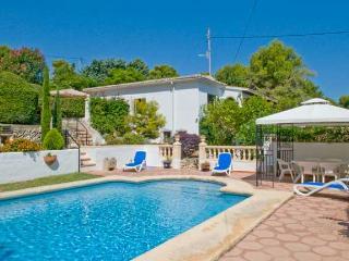 Javea, Villa Katarina Too, large pool, UK TV - Javea vacation rentals