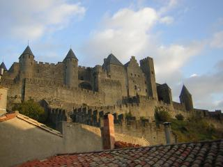 Cezanne stunning views of castle ramparts - Carcassonne vacation rentals
