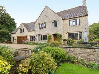 Farncombe Cottage to the left. - Clapton on the Hill vacation rentals