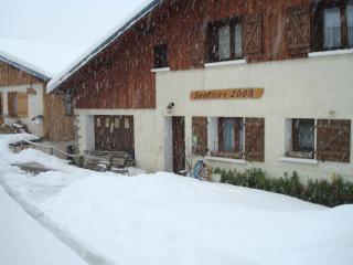 Aux 3 Gîtes Sentiers2000 - 2P - La Cote-d'Aime vacation rentals