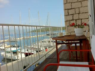 Yacht marina front apartment in centre - Korcula Town vacation rentals