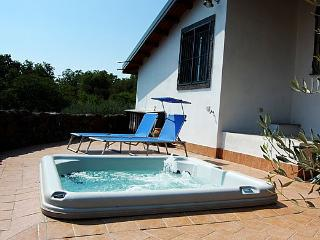 Private villa with pool, hottub and seaview - Piedimonte Etneo vacation rentals