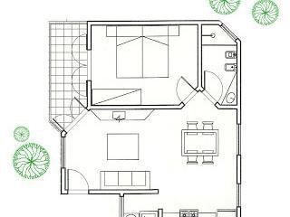 Apartment Beachfront B5 with veranda  max 5 beds - Porto Seguro vacation rentals