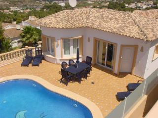 Que Vida, 3 bedroom villa, private pool, A/C, WiFi - Benitachell vacation rentals
