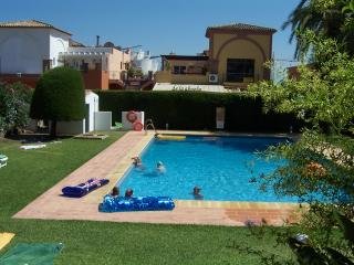 2bed/2bath garden with glass curtained room on terrace  El Pilar nr Estepona - Estepona vacation rentals