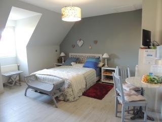 Romantic 1 bedroom Saint-Gatien-des-Bois Bed and Breakfast with Internet Access - Saint-Gatien-des-Bois vacation rentals