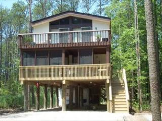 Nice wooded lot, 4 bedroom, 2 bath house. State beach use. - Bethany Beach vacation rentals