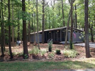 Nestled in the woods, 3 bedroom cottage. Close to the beach! - Bethany Beach vacation rentals