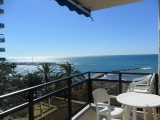 Skol 532 beachfront central top floor corner with pool, views and WIFI - Marbella vacation rentals