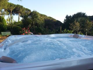 Near Bracciano lake hot tub 6 people 2 bedrooms 2 bathrooms spa air conditioning - Manziana vacation rentals