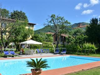 2 bedroom apartment in classic Tuscan villa, shared pool, private garden, wi-fi available - Ponte a Moriano vacation rentals