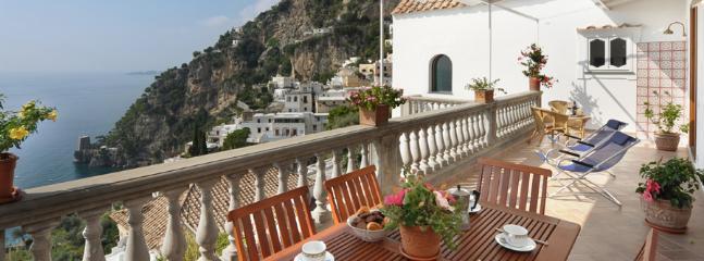 3 bedroom Villa in Positano, Positano, Amalfi Coast, Italy : ref 2230343 - Image 1 - Positano - rentals