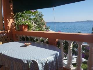 SEA FRONT app  for 2, BIG balcony!! - Bibinje vacation rentals