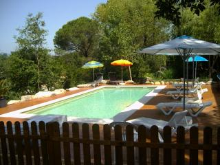 Beautiful villa with a saline pool for 15 guests - Sils vacation rentals