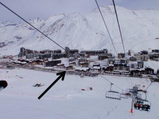 Snow pad for 4, Tignes, Val Claret - Tignes vacation rentals