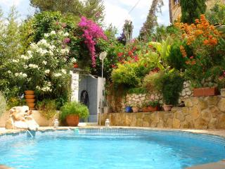 Hanging Gardens Private Pool 16ft x 8ft and Lovely Private Garden - Moraira vacation rentals