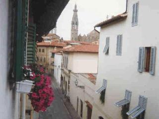 1 bedroom apartment in characteristic Florence street, ideal location for sightseeing in the city - Florence vacation rentals