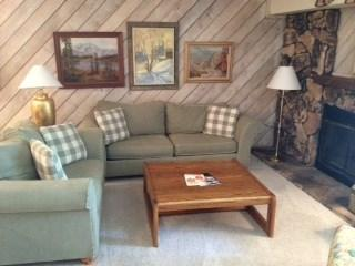 Living Room  - Fairway Nine 4321: Elkhorn Vacation Rental - Ketchum - rentals