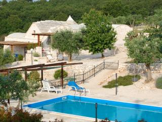Luxury Puglia Trullo, Solar Heated Pool,Stunning Views, AC, WiFi.In olive groves - Alberobello vacation rentals