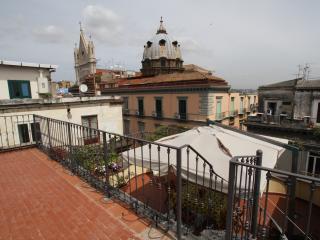 Re di Napoli Apartment - Napoli - Appartamentino sui tetti di Napoli - Naples vacation rentals