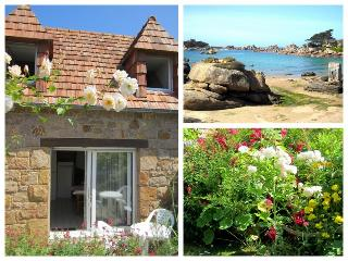 Charming stay tiploum Ploumanach beach 2-3p - Perros-Guirec vacation rentals