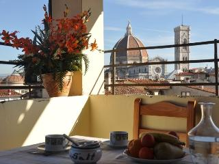 Huge 3 bedrooms flat with terrace with Duomo view - Florence vacation rentals