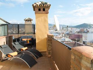 LIVIN4MALAGA - PENTHOUSE ROSALEDA - 2 TERRACES - Malaga vacation rentals