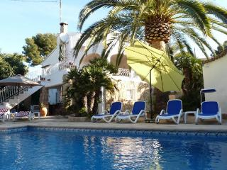 Villa Margaritas in Moraira near the beach and sea - Moraira vacation rentals